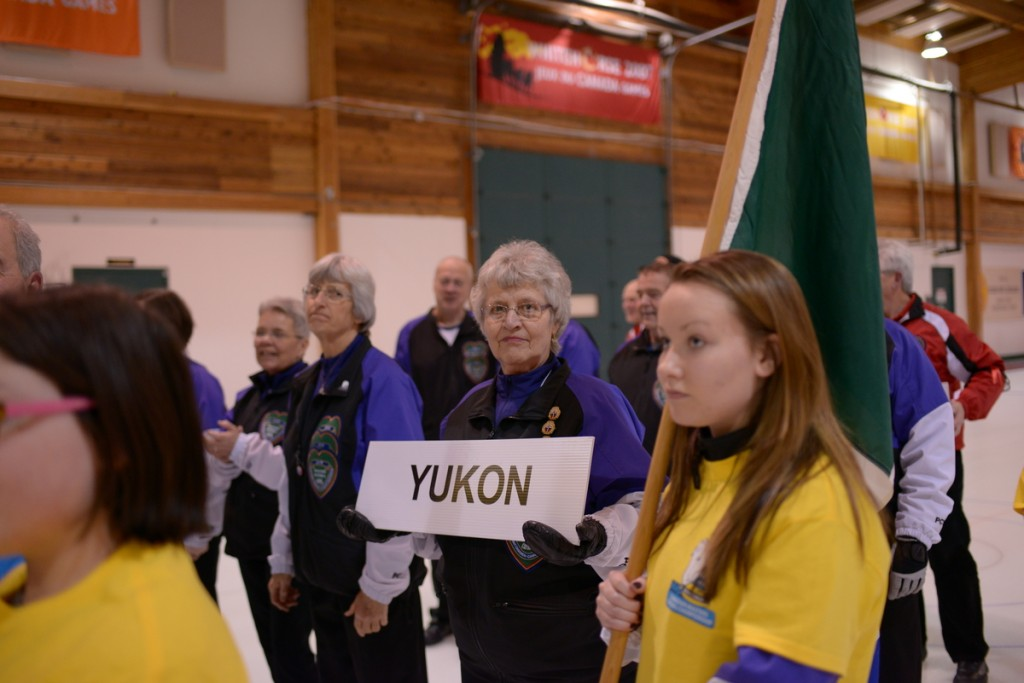Opening Ceremony of the 2015 NVD Canadian Masters Curling Championships