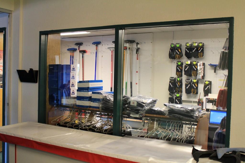 Pro shop view