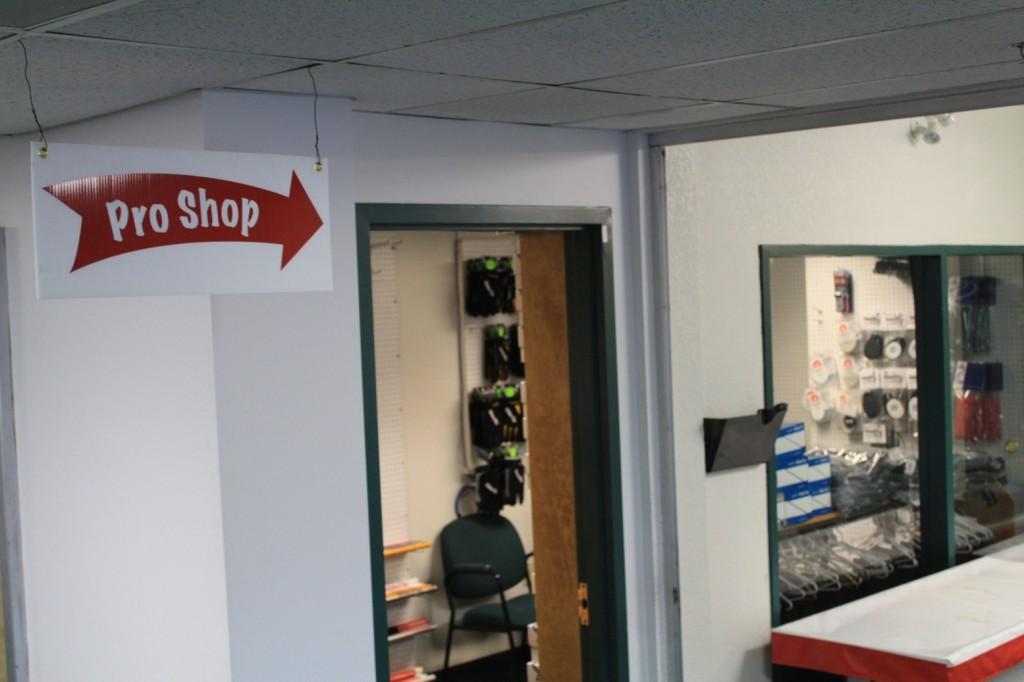 Pro Shop entry