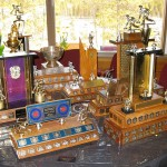 WCC International Bonspiel 2016 trophies